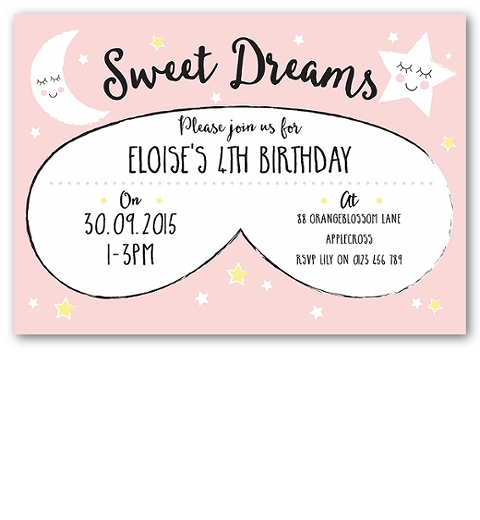 Pyjama Party Invitation
