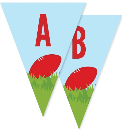 Aussie Rules Bunting