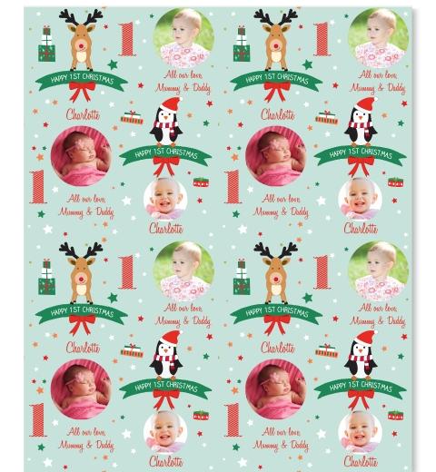 1st Christmas Wrap