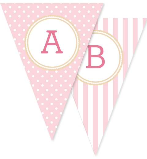 Baby Pink Polka Dots & Stripes