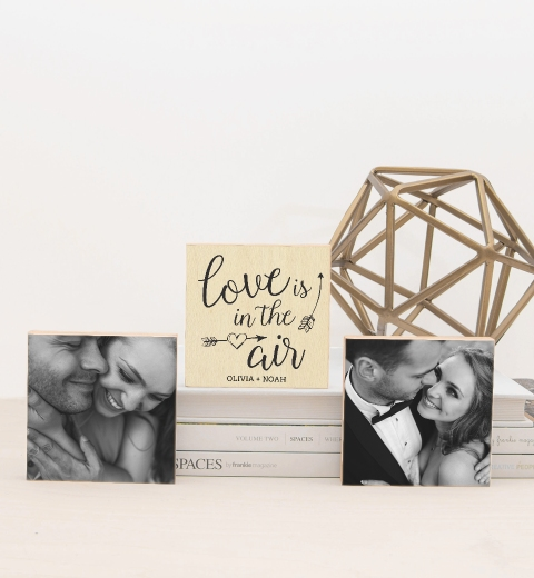 Love Is In The Air Photo Blocks