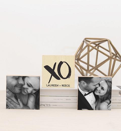 XO Photo Triptych