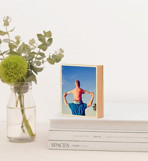 10 x 10 Photo on Wood