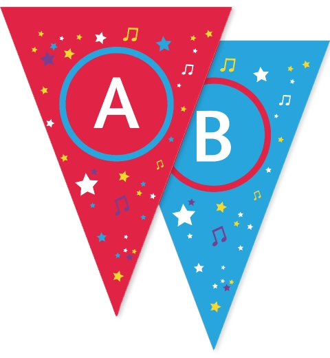 Let's Party!  Bunting