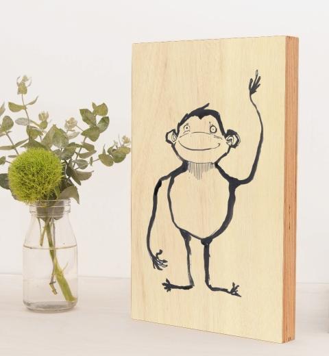 Ink Monkey by Tori Benz