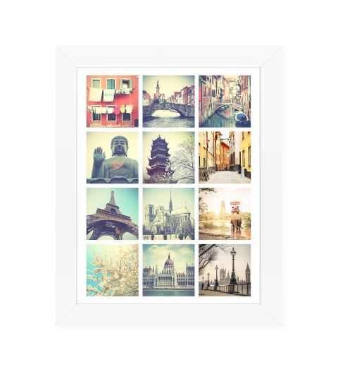 12 Photo Poster 11 x 14 inches