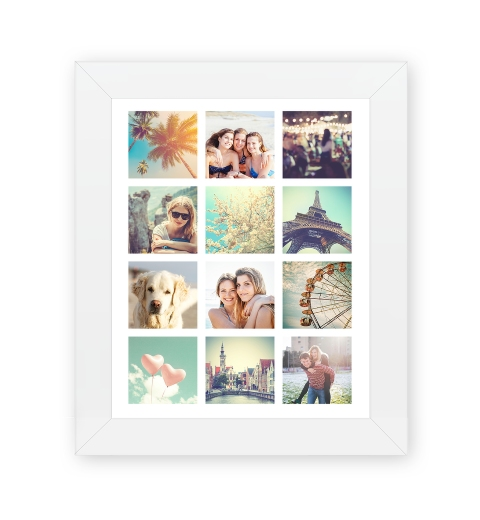 12 Photo Poster 8 x 10 inches