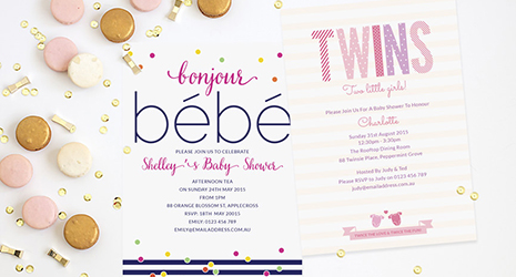Baby Shower Invitations | Love JK