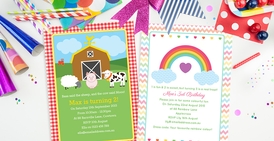 Birthday Invitation Wording Messages – Toddler Birthday Invitation