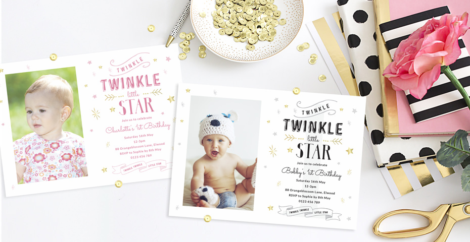 Birthday invitation wording messages love jk twin 1st birthday invitation stopboris Images