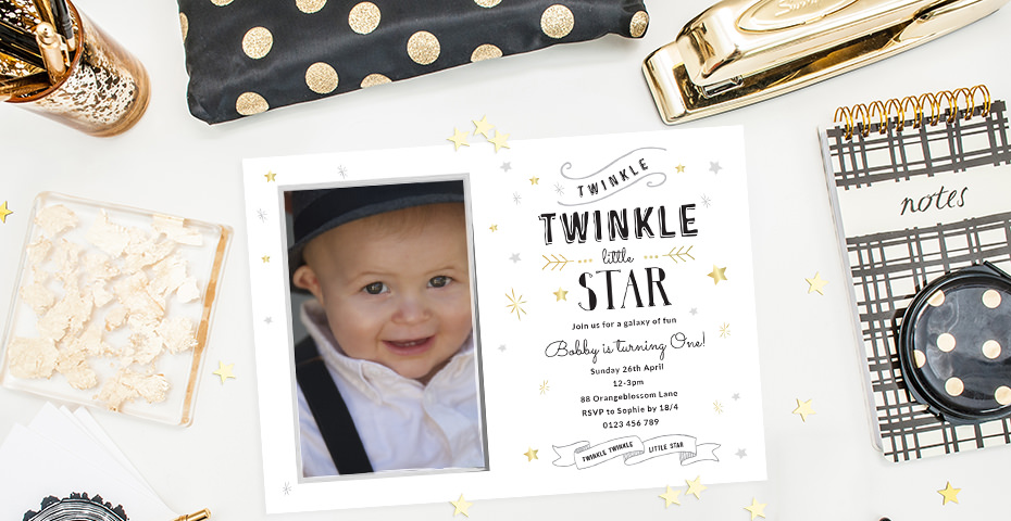 First birthday invitation wording love jk little stopboris Images